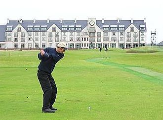 Carnoustie Golf Links - Carnoustie is known as 'The Beast'. It is one of the venues for The Open Championship.