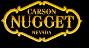 Carson Nugget - Image: Carson Nugget Logo
