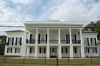 National Register of Historic Places listings in Iberville Parish, Louisiana - Image: Carville Dist WM