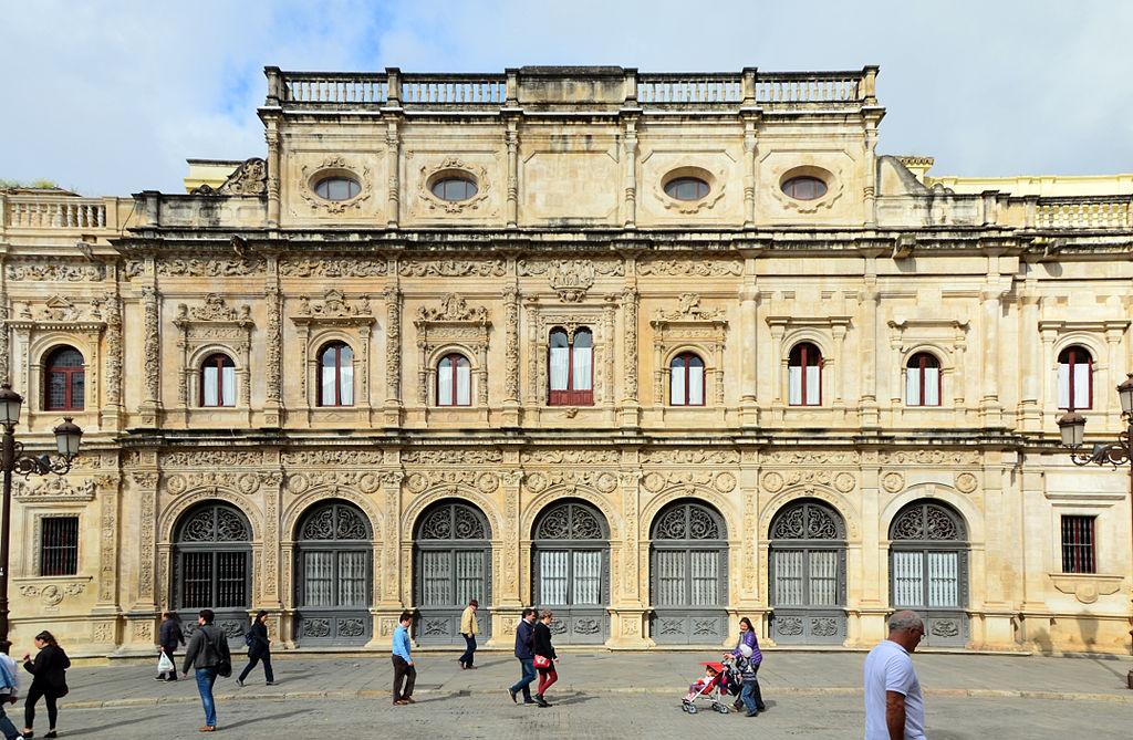 File casa consistorial de sevilla de sevilla plaza de san for Casas de sofas en sevilla