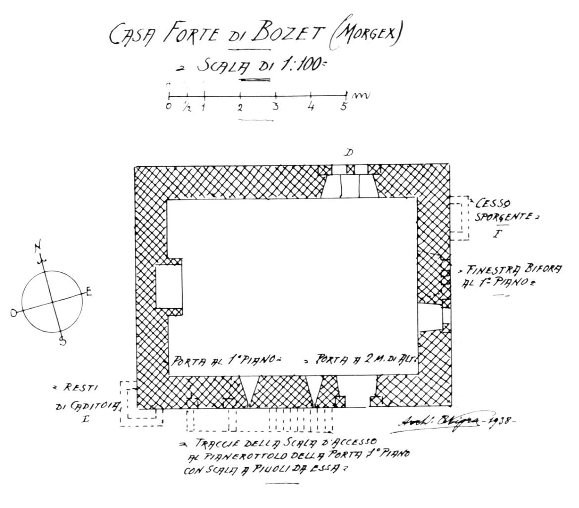 file casaforte di bozet morgex pianta fig 240 disegno