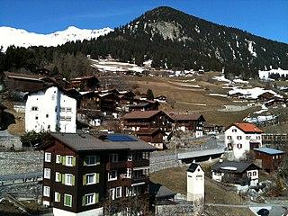 Castiel, Switzerland Former municipality of Switzerland in Graubünden