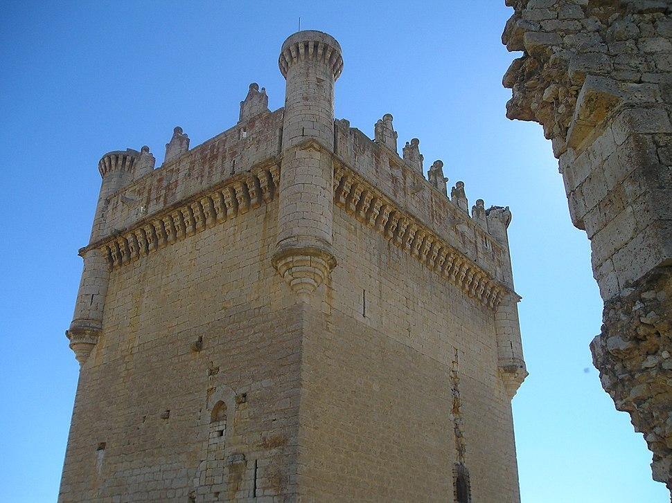 Castillo de Belmonte de Campos-Detalle