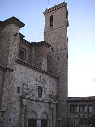 Segorbe Cathedral - View of the façade of the Cathedral of Segorbe.