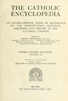 Catholic Encyclopedia, volume 14.djvu