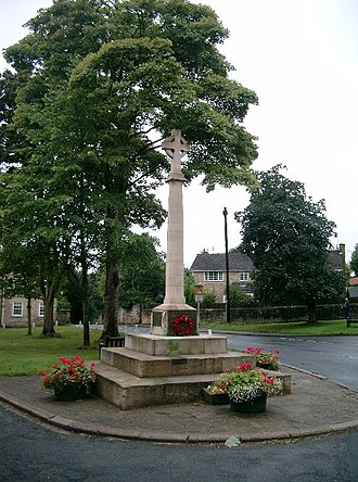 Thorp Arch, West Yorkshire - Image: Celtic Cross, Thorp Arch geograph.org.uk 51549