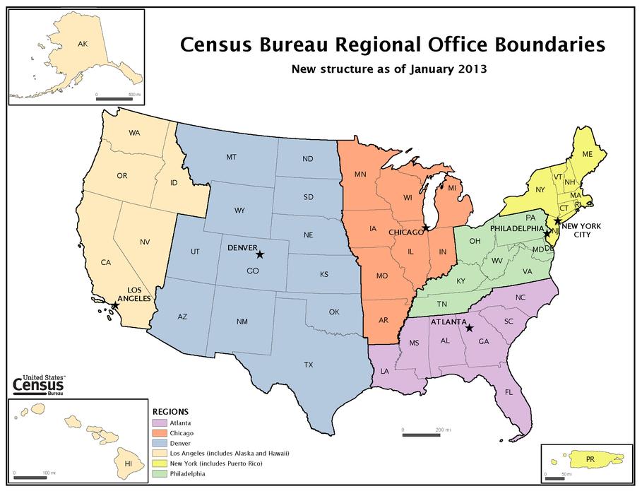 Census Regions and Divisions