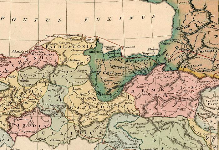 Antik Çağ Tzan Krallığı Kolkhis.