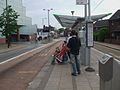Centrale busstop look south.JPG