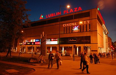 How to get to Lublin Plaza with public transit - About the place