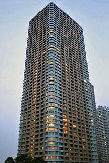 Century Park Tower building in Tokyo, Japan