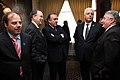 Ceremonia de Deposito del Instrumento de Ratificación al Protocolo Adicional al Tratado Constitutivo de la Unión de Naciones Suramericanas UNASUR. Sobre Compromiso con la Democracia por Parte de la República de Chile (6982666019).jpg