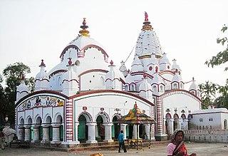 Tamluk City in West Bengal, India