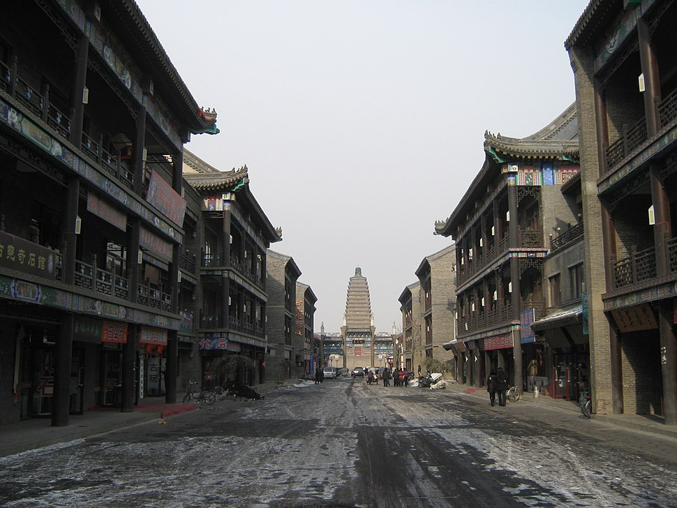 An ancient street in Chaoyang.