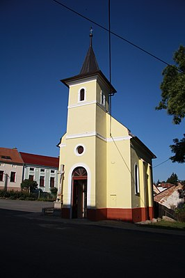 Chapel of John of Nepomuk in Hornice, Třebíč District.JPG