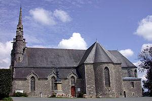La Chapelle-Neuve, Côtes-d'Armor - The church of Notre-Dame-de-la-Pitié
