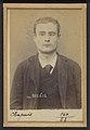 Chapuis. Charles, Paul. 17 ans, né le 22-3-76 à Paris VIle. Tapissier. Anarchiste. 7-1-94 MET DP290304.jpg
