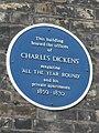 Charles Dickens - Blue Plaque.JPG