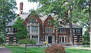 Fisher Body - Image: Charles T Fisher House Boston Edison Detroit