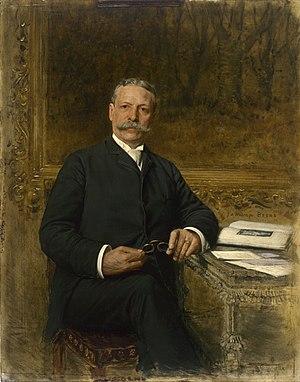 Charles Yerkes - Charles Tyson Yerkes by Jan van Beers, c. 1893