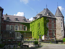 chateau a vendre hermalle sous huy
