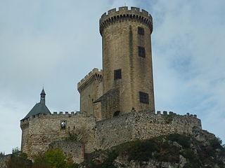 Le Château de Foix dans Ariège