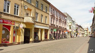 Chełmża - Copernicus Street in Chełmża