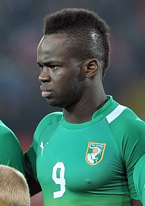 Cheick Tioté - Tioté representing the Ivory Coast in 2012