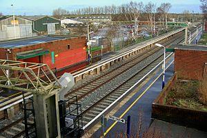Chelford railway station - Chelford railway station