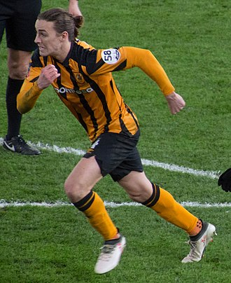 Jackson Irvine - Irvine playing for Hull City in 2018