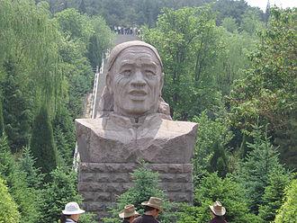 Chen Yonggui - Chen Yonggui statue in Dazhai