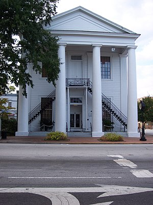 Cheraw, South Carolina - Historic Town Hall in downtown Cheraw