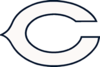 Chicago Bears white logo.png