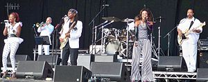 Chic (band) - Chic performing at GuilFest 2012