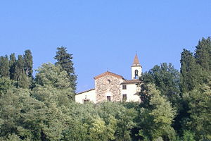 Bagno a Ripoli - S. Tommaso in Baroncelli church.