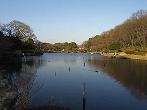 Childrens Natural Park(Ooike Park) in Yokohama Japan.jpg