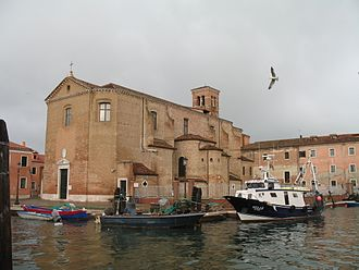 War of Chioggia - The town of Chioggia