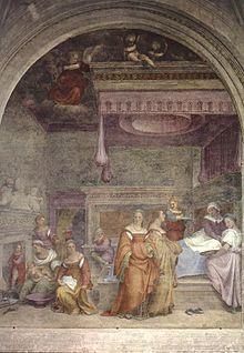 Natività della Vergine (1513-1514)