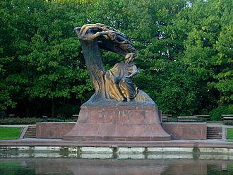 Wacław Szymanowski - Frédéric Chopin monument, Warsaw