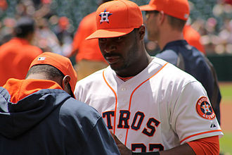 Chris Carter (right-handed hitter) - Carter with the Houston Astros