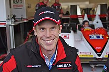 Description de l'image Chris Dyson Driver of Greaves Motorsport's Zytek Z11SN Nissan (8667950869).jpg.