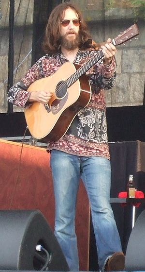 Chris Robinson of the Black Crowes at the 2008...