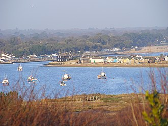 Christchurch Harbour - Image: Christchurch Dorset 03