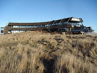 Mount Cavendish - Christchurch Gondola terminal on Mount Cavendish