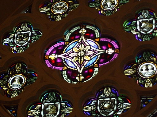 Christian Astrological Wheel