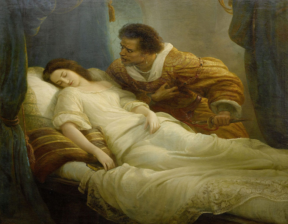 a fictional article on the death of othello and desdemona from william shakespeares play othello Get an answer for 'is othello an arabic character' and find homework help for in seeking desdemona's death and wanting revenge in the play othello.