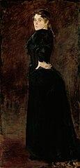Fru Alexandra Thaulow, f. Lasson