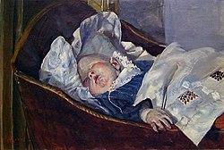 Christian Krohg - Tulla, the Artist's Grandchild - Tulla - Nasjonalmuseet - NG.M.01009.jpg