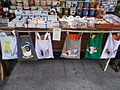 Christmas market in 2015 Deák Street. Funny bags. - Budapest.JPG