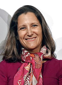 Chrystia Freeland en 2017.